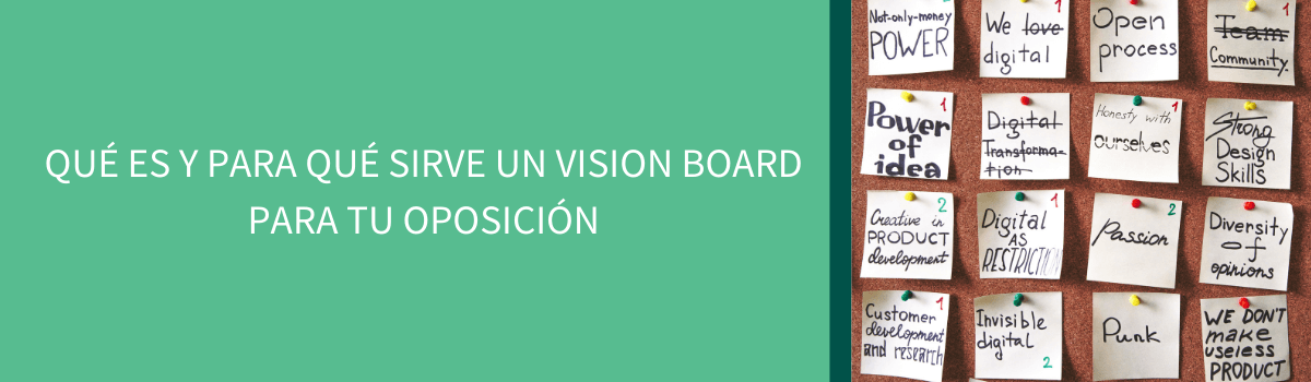 vision board para tu oposición