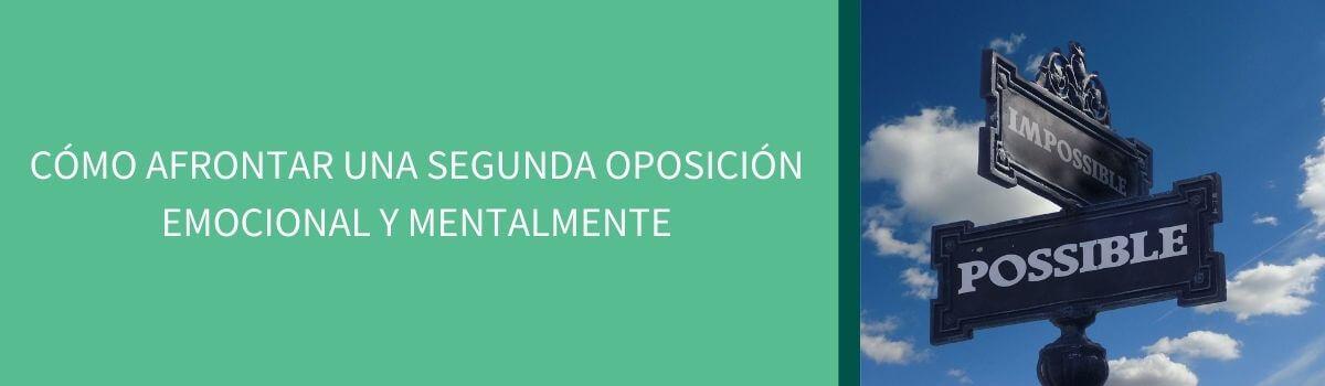 segunda oposición